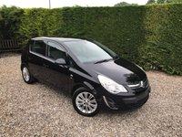 2012 VAUXHALL CORSA 1.2 SE 5d 83 BHP £5490.00