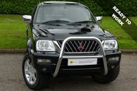 USED 2004 04 MITSUBISHI L200 2.5 TD 4WD LWB WARRIOR DCB 1d 114 BHP RARE WITH LOW MILES*** NO V.A.T****