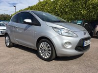 2014 FORD KA 1.2 ZETEC 3d LOW MILEAGE WITH FORD WARRANTY £5500.00