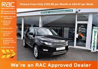 USED 2013 63 LAND ROVER RANGE ROVER EVOQUE 2.2 SD4 Pure Tech 4x4 5dr AUTO+NAV+ROOF+PHONE+LEATHER