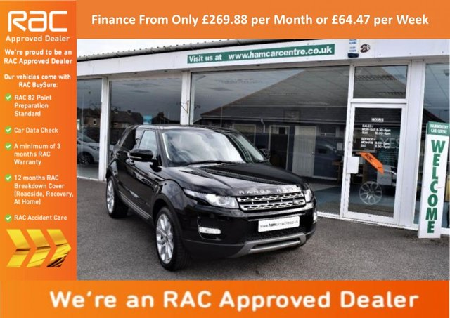 2013 63 LAND ROVER RANGE ROVER EVOQUE 2.2 SD4 Pure Tech 4x4 5dr