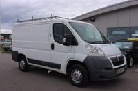 USED 2008 08 CITROEN RELAY 2.2 33 L1H1 100 SWB 1d 100 BHP LOW DEPOSIT OR NO DEPOSIT FINANCE AVAILABLE.