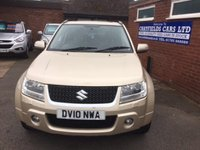 USED 2010 10 SUZUKI GRAND VITARA 1.9 SZ5 DDIS 5d 129 BHP FULL MAIN DEALER SERVICE HISTORY INCLUDING CAMBELT AND WATER PUMP CHANGE