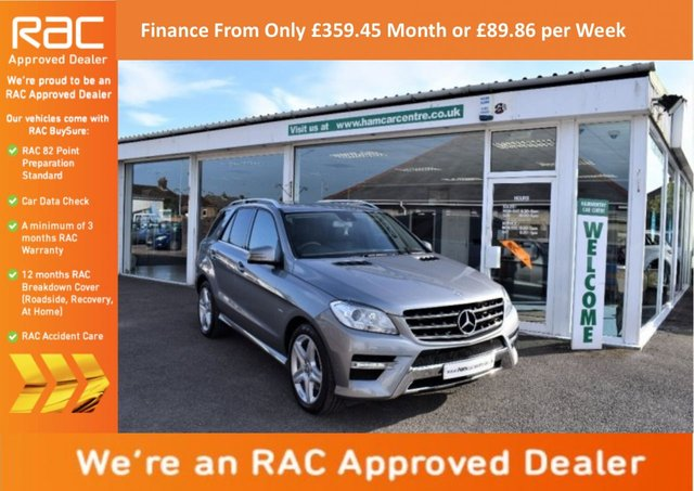 2012 12 MERCEDES-BENZ M CLASS 3.0 ML350 CDI BlueTEC Sport 5dr