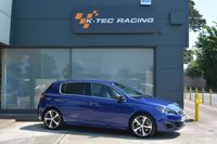 USED 2015 65 PEUGEOT 308 2.0 BLUE HDI S/S GT 5d AUTO 180 BHP FULL LEATHER INTERIOR, HEATED SEATS, SAT NAV, DAB RADIO, REVERSE CAMERA