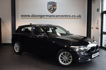 2014 BMW 1 SERIES 1.6 116D EFFICIENTDYNAMICS 5DR 114 BHP £11470.00