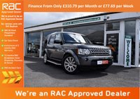 USED 2013 13 LAND ROVER DISCOVERY 4 3.0 SD V6 XS 4x4 5dr SAT-NAV+PHONE+R/CAMERA+7 SEATS