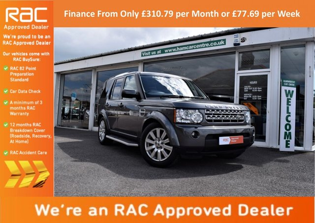 2013 13 LAND ROVER DISCOVERY 4 3.0 SD V6 XS 4x4 5dr