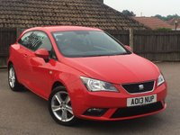 2013 SEAT IBIZA 1.4 TOCA 3d 85 BHP £6295.00