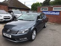 2013 VOLKSWAGEN PASSAT 2.0 HIGHLINE TDI BLUEMOTION TECHNOLOGY DSG 5d AUTO 139 BHP £10790.00