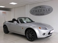 USED 2008 57 MAZDA MX-5 2.0 SPORT 2d 160 BHP Great Looking Cool Cabriolet! 12 months MOT & Leather