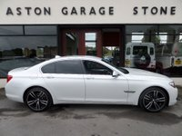 USED 2011 61 BMW 7 SERIES 3.0 730D SE 4d AUTO 242 BHP ** DVD * SAT NAV * 20 INCH ALLOY WHEELS **