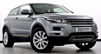 USED 2014 14 LAND ROVER RANGE ROVER EVOQUE 2.2 SD4 Pure Tech Coupe 4x4 3dr Auto Pan Roof, Sat Nav, DAB Radio