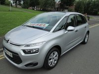 USED 2014 14 CITROEN C4 PICASSO 1.6 HDI VTR 5d 91 BHP FULL MAIN DEALER SERVICE HISTORY - 35,000 GUARANTEED MILES - 1 LADY OWNER FROM NEW