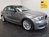 USED 2011 61 BMW 1 SERIES 2.0 120D M SPORT 2d AUTO 175 BHP HISTORY-VERY LOW MILEAGE-ALLOYS-A/C