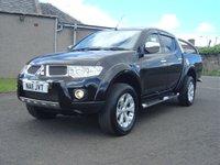 2011 MITSUBISHI L200 2.5 DI-D 4X4 BARBARIAN LB DCB 1d AUTO 175 BHP £9950.00