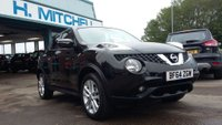 USED 2014 64 NISSAN JUKE 1.2 ACENTA PREMIUM DIG-T 5d 115 BHP Family Run For 40 Years