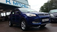 USED 2014 64 FORD KUGA 1.5 ZETEC 5d 148 BHP 12 Months Warranty + Ford