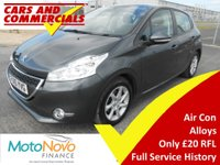 2015 PEUGEOT 208 1.2 VTi Active 5dr 82ps £5995.00
