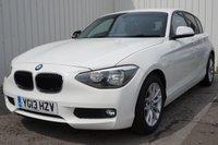 2013 BMW 1 SERIES 1.6 116D EFFICIENTDYNAMICS 5d 114 BHP £8995.00