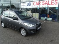 USED 2009 58 HYUNDAI I10 1.2 COMFORT 5d 77 BHP £0 DEPOSIT, LOW RATE FINANCE ANYONE, DRIVE AWAY TODAY!!