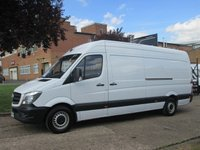 USED 2016 65 MERCEDES-BENZ SPRINTER 2.1 313CDI LWB HIGH ROOF 129 BHP. EURO 6. FACELIFT MODEL. 18 MONTHS MERCEDES WARRANTY. FINANCE. PX WELCOME