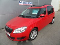 2015 SKODA ROOMSTER 1.6 SE TDI CR 5d 105 BHP LOW MILEAGE, PAN ROOF, A/C £6495.00