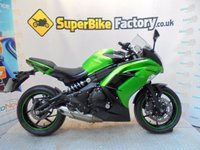 USED 2014 13 KAWASAKI ER-6F EDS  GOOD & BAD CREDIT ACCEPTED, OVER 500+ BIKES