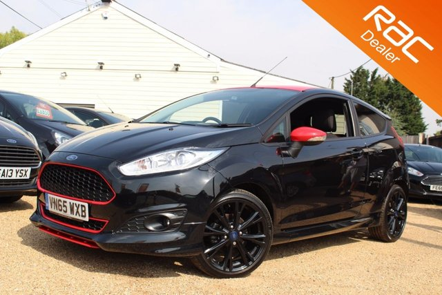View our 2016 65 FORD FIESTA 1.0 ZETEC S BLACK EDITION 3d 139 BHP