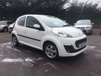 USED 2012 62 PEUGEOT 107 1.0 ALLURE 5d    IN THE BEST COLOUR NO DEPOSIT  FINANCE ARRANGED, APPLY HERE NOW