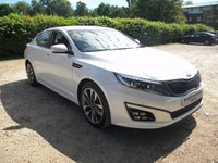 USED 2015 15 KIA OPTIMA 1.7 CRDI 2 4d AUTO 134 BHP SatNav, Full Heated Leather Seats, Bluetooth, Kia Warranty till 2022