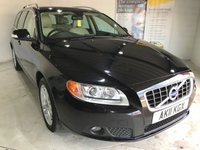 USED 2011 11 VOLVO V70 2.4 D5 SE LUX 5d AUTO 205 BHP Full service history, full leather upholstery, Heated front seats, Electric/memory driver's seat, Bluetooth, Satellite Navigation, Remotely operated tailgate, Folding mirrors and reversing sensors