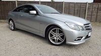 USED 2010 60 MERCEDES-BENZ E CLASS 3.0 E350 CDI BLUEEFFICIENCY SPORT 2dr AUTO Sat Nav, Leather, PDC, Xenons