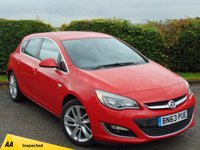 USED 2013 63 VAUXHALL ASTRA 2.0 SRI CDTI S/S 5d * 128 POINT AA INSPECTED *