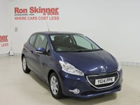 USED 2014 14 PEUGEOT 208 1.2 ACTIVE 3d 82 BHP