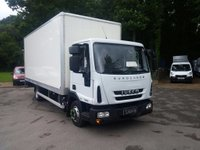 USED 2016 66 IVECO-FORD EUROCARGO 75e16s Box With Tail Lift 4.5 Low Kms, Reverse Camera