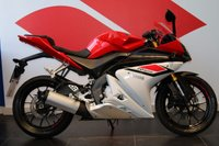 USED 2015 15 YAMAHA YZF-R125 ABS Red/White