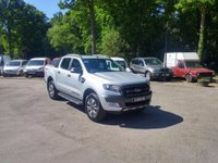 USED 2017 17 FORD RANGER 3.2 TDCi Wildtrak Double Cab Pick up 4x4 4dr (EU6) Delivery Mileage, Pre-Registered, Ready To Go