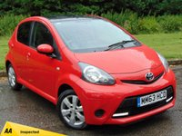 USED 2013 63 TOYOTA AYGO 1.0 VVT-I MOVE WITH STYLE 5d 68 BHP SATELLITE NAVIGATION & 128 POINT AA INSPECTED