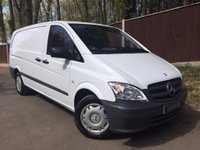 USED 2013 13 MERCEDES-BENZ VITO 2.1 116CDI Long Panel Van (EU5) One Owner, Electric Pack