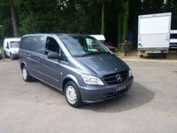 USED 2011 11 MERCEDES-BENZ VITO 2.1 113CDI Compact Panel Van SWB One Owner-Air Con-Heated Seat