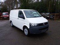 USED 2010 60 VOLKSWAGEN TRANSPORTER 2.0 TDI T30 Panel Van (SWB) SWB T5, Ideal For Converting