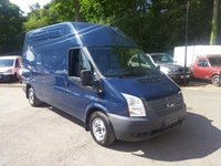 USED 2012 62 FORD TRANSIT 2.2 TDCi 300 High Roof (LWB) With Tail Lift Internal Lift, Low Mileage