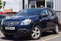 USED 2009 09 NISSAN QASHQAI+2 2.0 VISIA PLUS 2 DCI 5d 148 BHP 4WD 7 SERVICE STAMPS FULL HISTORY