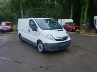 USED 2014 14 VAUXHALL VIVARO 2.0 CDTi 2700 Panel Van (SWB, EU5) Air Conditioning One Owner, Air Con, Full S/H