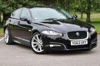 2013 JAGUAR XF 2.2 D SPORT 4d AUTO 200 BHP £15680.00