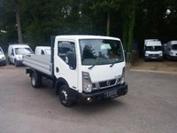 USED 2016 16 NISSAN NT400 CABSTAR 2.5 dCi 35.14 Dropside Truck 2dr (SWB) One Owner, Low Mileage