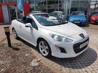 2012 PEUGEOT 308 2.0 HDI CC ALLURE 2d 163 BHP £8995.00