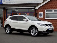 USED 2014 14 NISSAN QASHQAI 1.6 DCI ACENTA PREMIUM 5dr * Sat Nav & Pan Roof * * Superb Economy + Only £30 Road Tax *