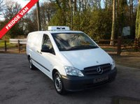USED 2013 63 MERCEDES-BENZ VITO 2.2 113 CDI LWB Fridge Van New Fridge Equipment